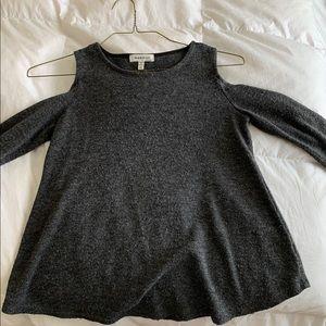 Dark gray top